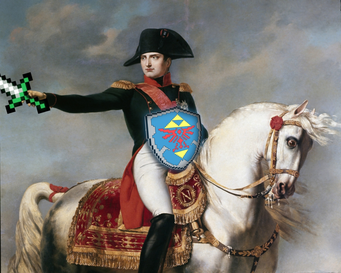 The Legend of Napoleon Montage on Photoshop CS4