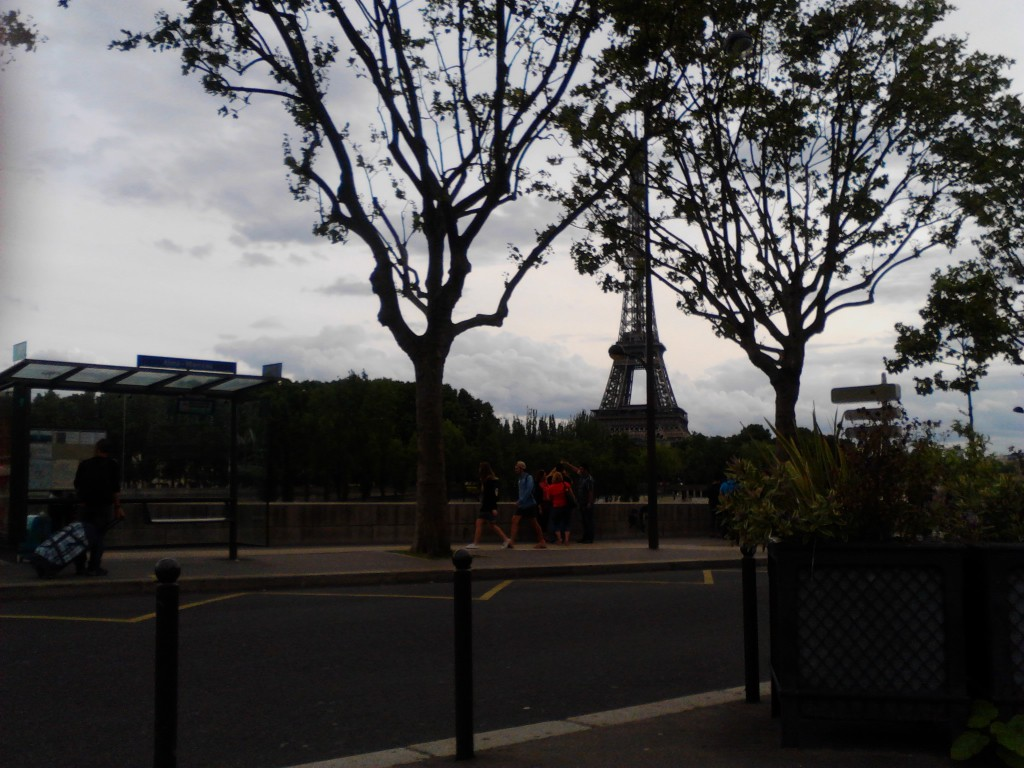 Picture at paris, camera picture